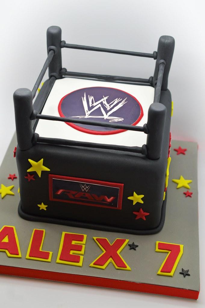 Wrestling Birthday Cake Patricia Creative Cakes