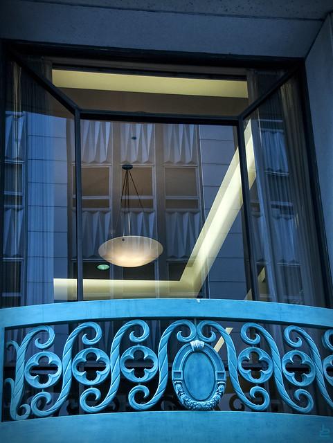 Escher's Balcony