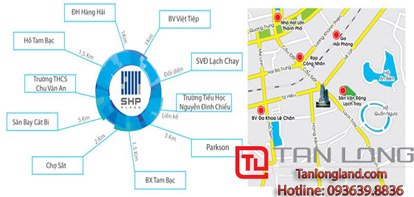 """Cho thuê căn hộ SHP - Vị trí thuận lợi  <img src=""""images/"""" width="""""""" height="""""""" alt=""""Công ty Bất Động Sản Tanlong Land"""">"""