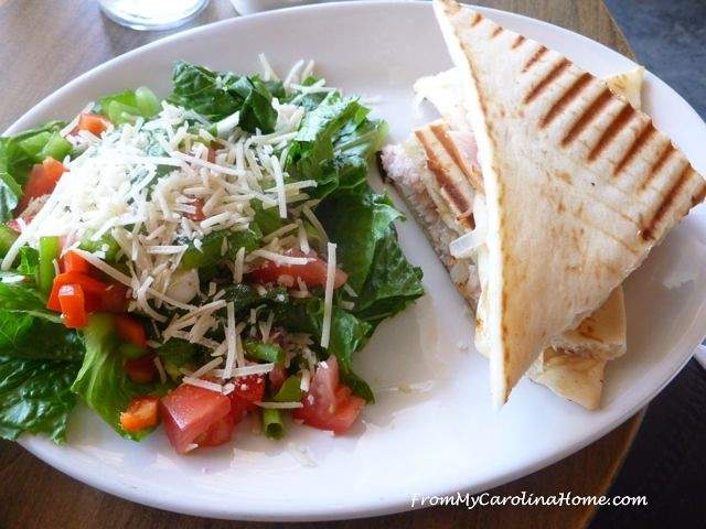 Lunch at Dandelion Cafe ~ From My Carolina Home
