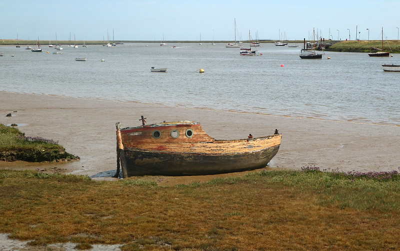 Old Abandoned Boat Orford