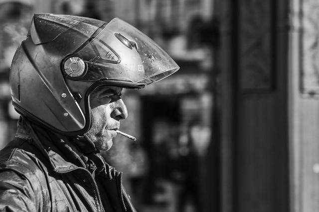 Paradox: Safety conscious smoker