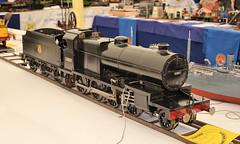 SDJR 53807 steam locomotive model