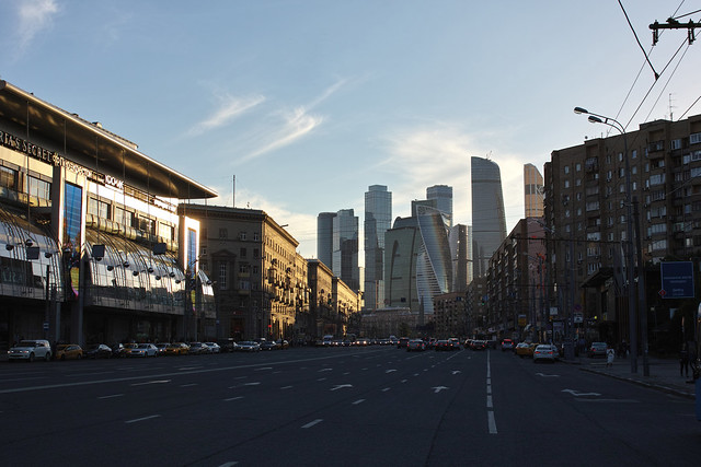 """Moscow International Business Center """"Moscow City"""""""