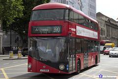 Wrightbus NRM NBFL - LTZ 1008 - LT8 - Archway 390 - Metroline - London 2017 - Steven Gray - IMG_1474