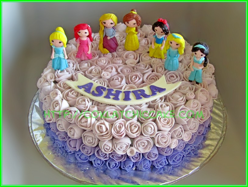 disney princess on flowers ASHIRA