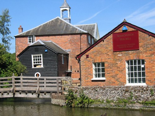 silk mill in whitchurch