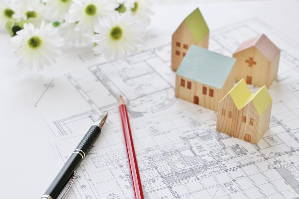 住宅設計時の図面