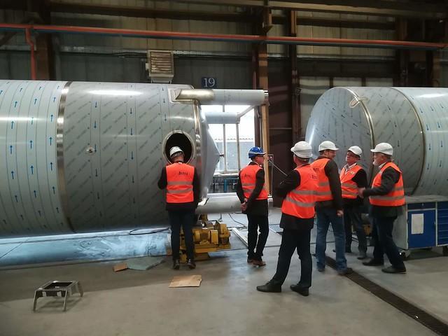 """LEI delegacijos vizitas mašinų gamykloje """"ASTRA"""""""