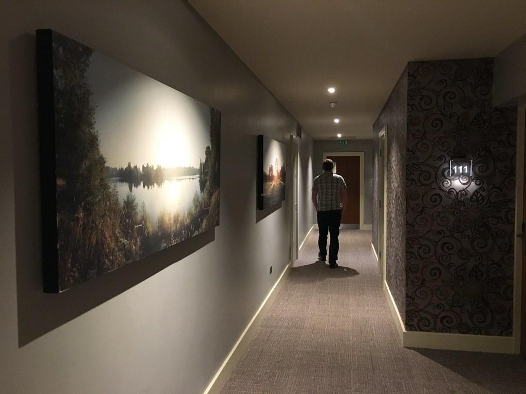 The Mere - hallway