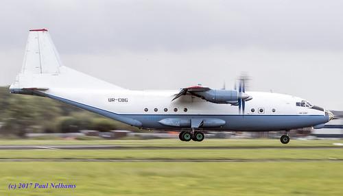 urcbg antonov an12 an12bp cavokair 6353705 transport coldwar landing shannonairport cvk7193 cub ivchenko ai20m