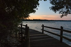 Sunrise over Lake Tollense