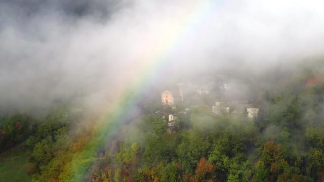 IMG_6323 arcobaleno davanti a Faviano