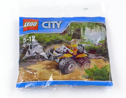 LEGO City Jungle 30355 Jungle ATV 01