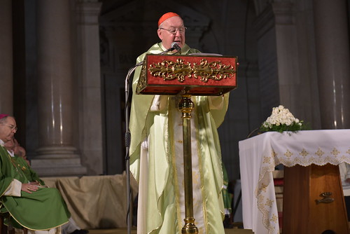 Card. Farrell at the Family Pilgrimage for the Family of Renewal in the Spirit