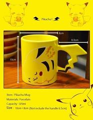 Pikachu Kawaii Coffee Mug with Realistic Pika Tail
