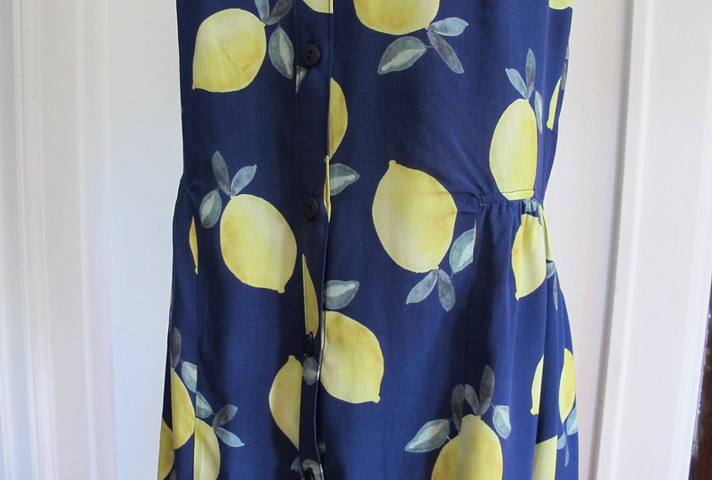 Lemon Rayon Alder Dress
