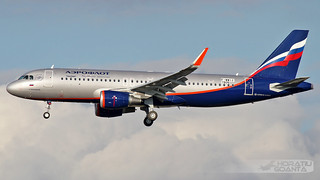 Airbus A320-214-WL VP-BKP Aeroflot (F-WWIZ, MSN 7806) | Toulouse Blagnac TLS/LFBO