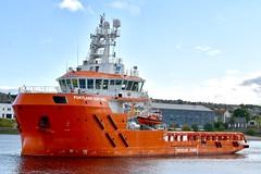Portland Sentinel - Aberdeen Harbour Scotland 14/9/17