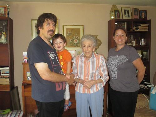 With Grandmom
