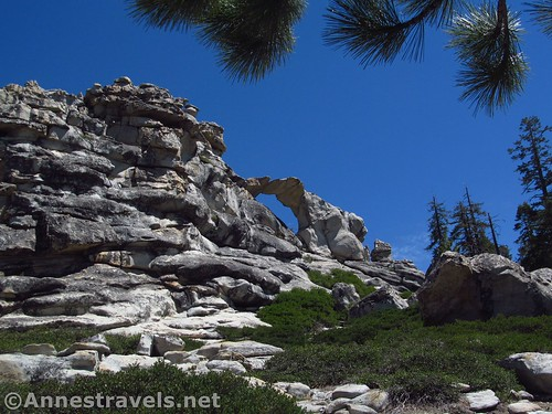 That looks like a pretty cool arch! Indian Rock in Yosemite National Park, California