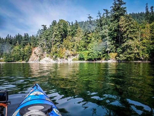 Kayaking Bellingham Bay-92