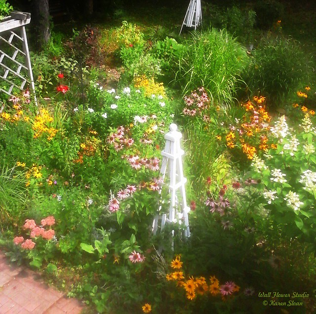 Our perennial garden - an overview in mid-September