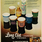 Tue, 2017-09-19 09:58 - Caption at bottom of advert: Long Aid... a beautiful family of hair products. Try them all. Our family did - and loves them.  Published in Ebony, March 1972 - Vol 27, No. 5  Fair use/no known copyright. If you use this photo, please provide attribution credit; not for commercial use (see Creative Commons license).