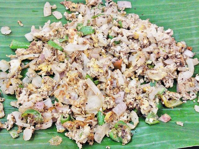Egg Poriyal / Egg Bhurji