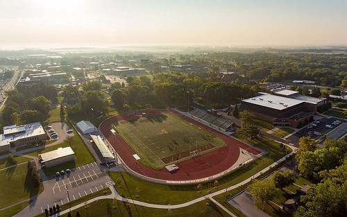 It may be a bit warm for the first day of fall, but it sure was beautiful this morning for men's soccer practice. #GoValpo