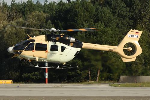 Airbus Industrie Eurocopter EC-145 D-HADB @ETSI 2017-09-15