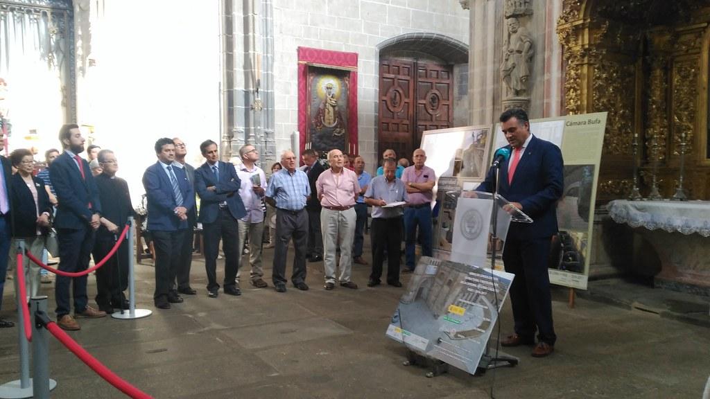Acto de entrega de las obras de restauración de la Catedral de Coria