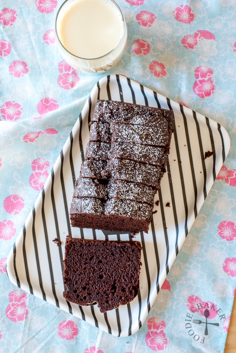 No-Mixer Okara Chocolate Cake