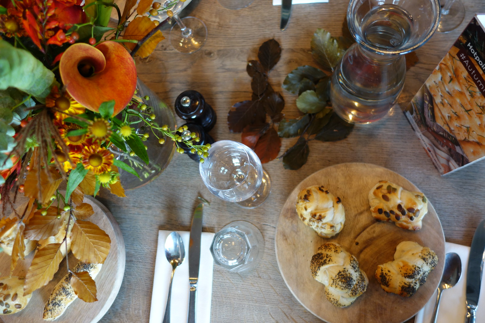 Autumnal Bakes - Currys PC World, Jamie Oliver Cookery School and Hotpoint