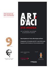 cartell ArtdAci16