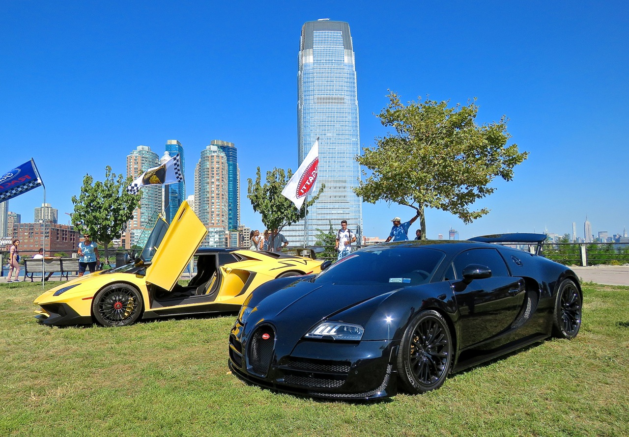 Bugatti and Lambo
