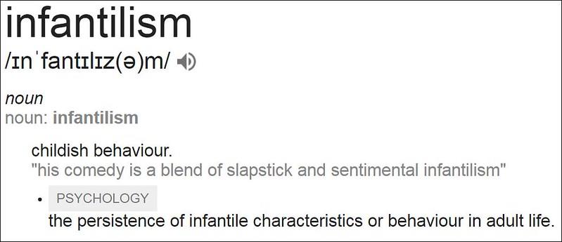 infantilism