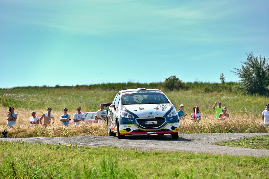 34 MARES Filip (CZE) HLOUSEK Jan (CZE) Peugeot 208 R2 action during the 2017 European Rally Championship Rally Rzeszowski in Poland from August 4 to 6 - Photo Wilfried Marcon / DPPI