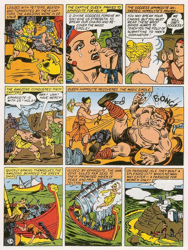 Wonder Woman #1 page 5