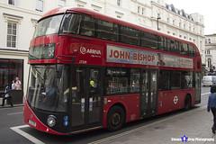 Wrightbus NRM NBFL - LTZ 1229 - LT229 - Hyde Park Corner 38 - Arriva - London 2017 - Steven Gray - IMG_1159