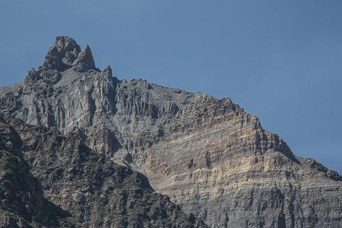 Streaked mountain