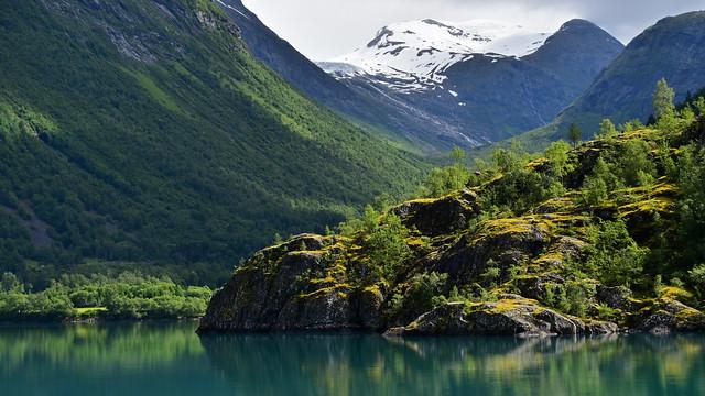 Norwegian shimmer, Nikon D5500, AF-S DX Nikkor 18-300mm f/3.5-6.3G ED VR