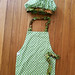 Small photo of Chef hat and apron