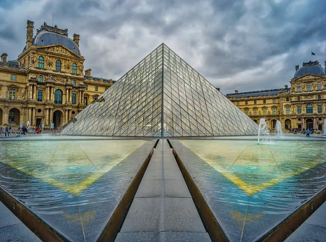 Reflections On The Louvre