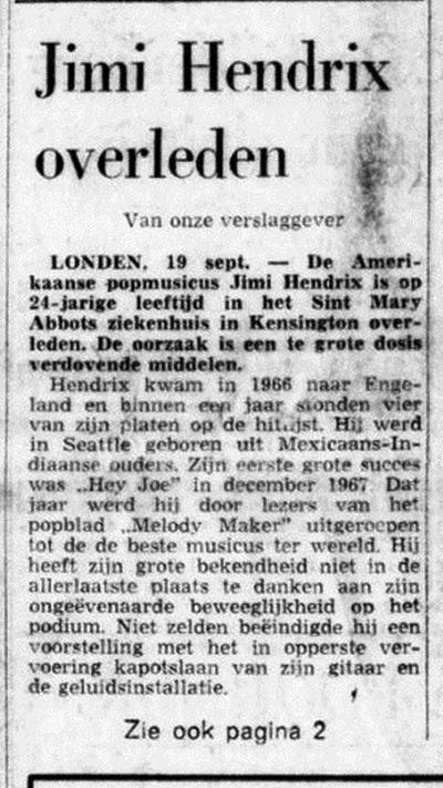 DE TIJD (NETHERLANDS) SEPTEMBER 19, 1970  2