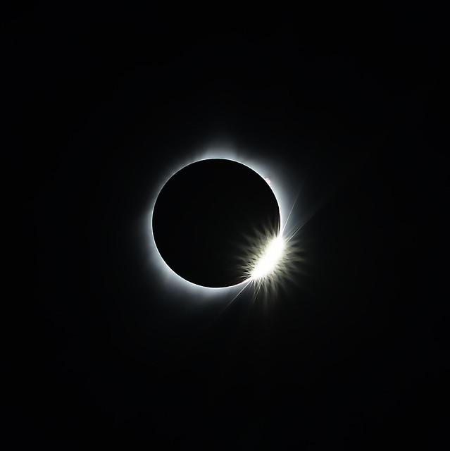 Solar Eclipse, Nikon D800E, AF Nikkor 300mm f/4 IF-ED