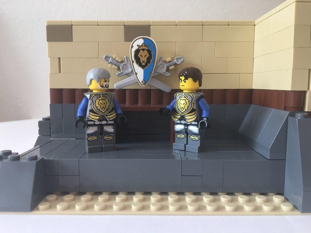 Prepare the knights