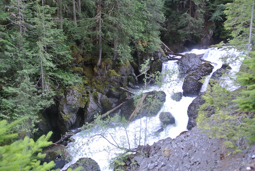 Olympic Mountain Dreams Day 2 - Further up Dosewallips Falls