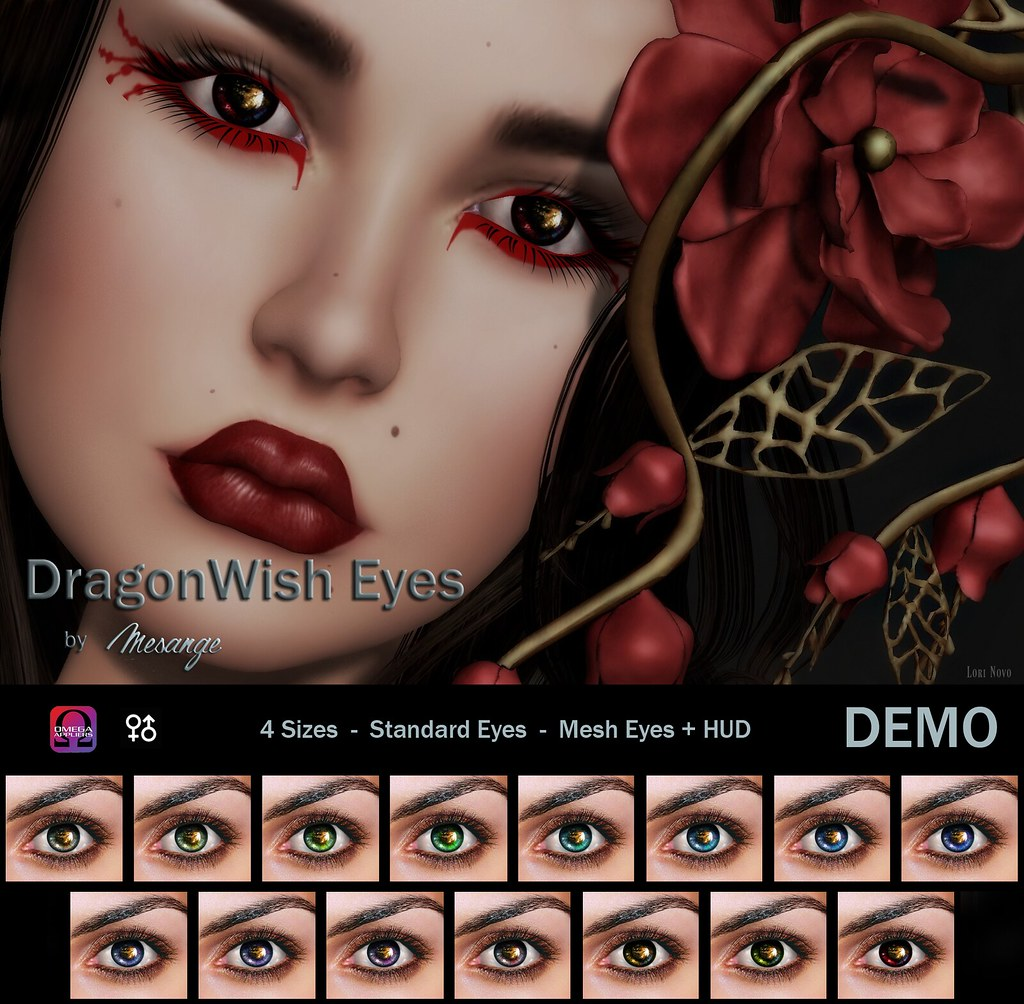 MESANGE - DragonWish Eyes for We<3RP - SecondLifeHub.com