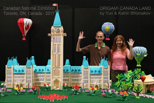Origami Canada Land